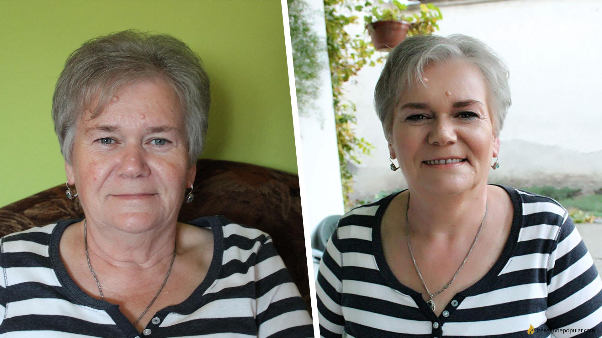older skin makeup