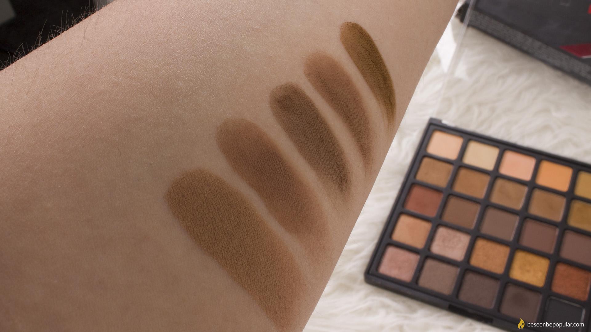 Morphe Copper Spice eyeshadow palette