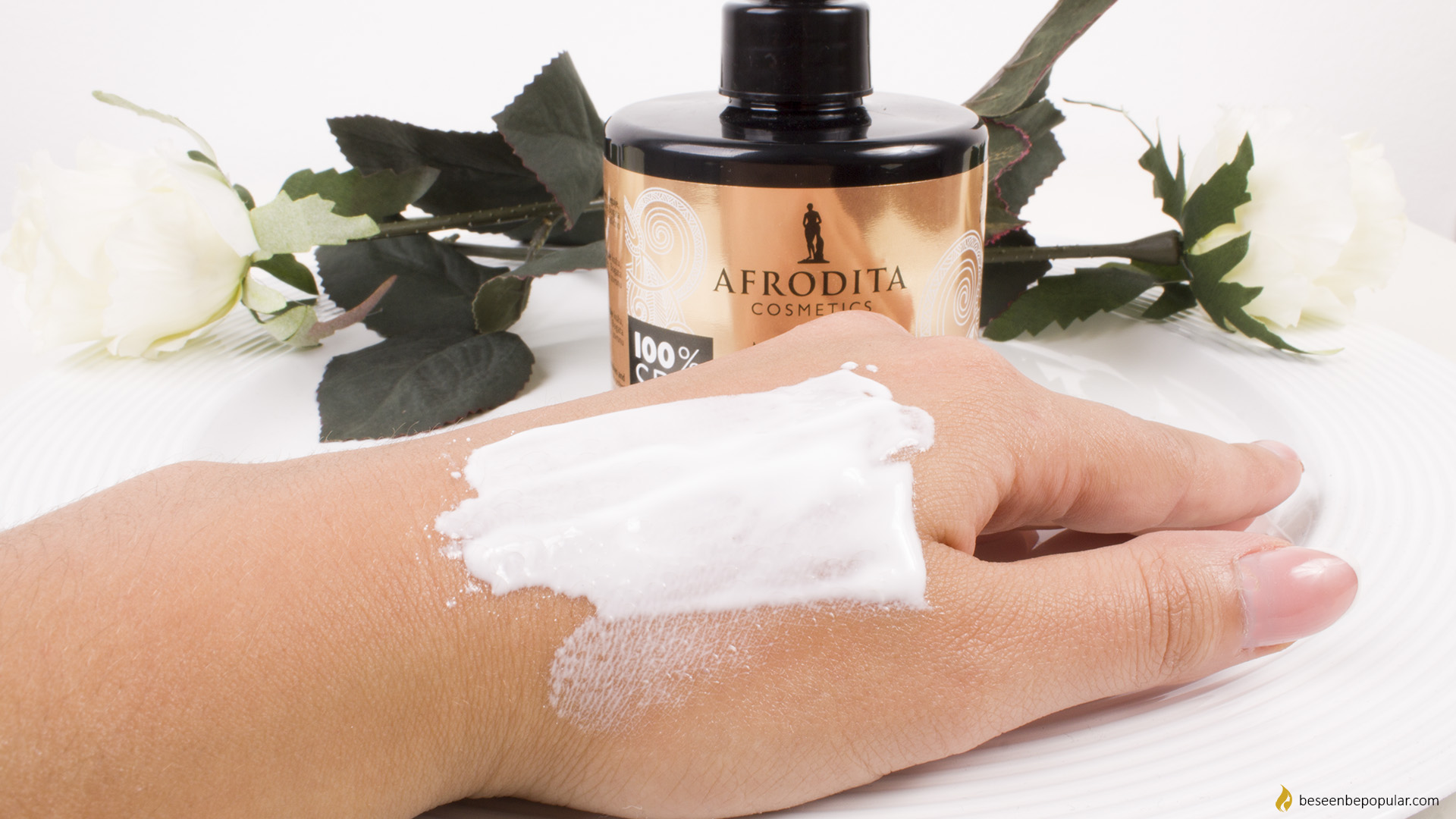 Dry skin care - Afrodita Nourish Gold Therapy body milk