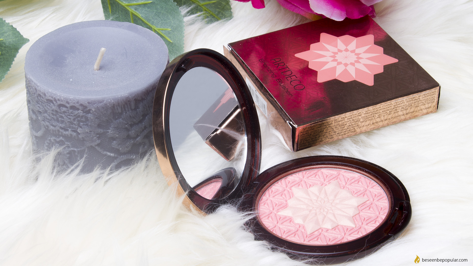 Artdeco bronzing blusher in two shades