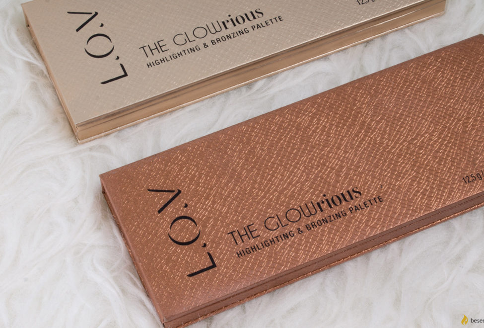 L.O.V. The GLOWrious highlighting and bronzing palette