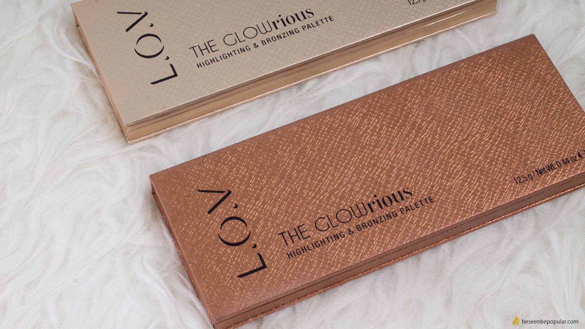 L.O.V the GLOWrious highlighting i bronzing paleta