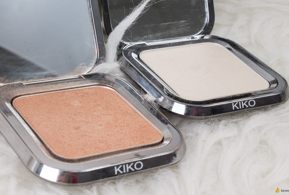 Kiko Glow Fusion highlighters