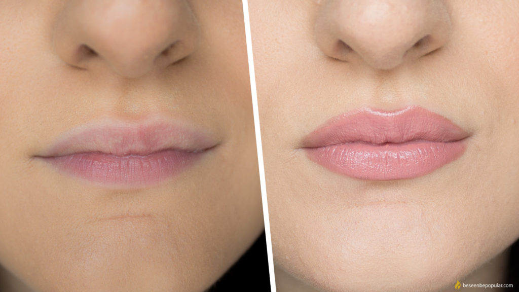 How to make your lips bigger using only makeup - tips & tricks