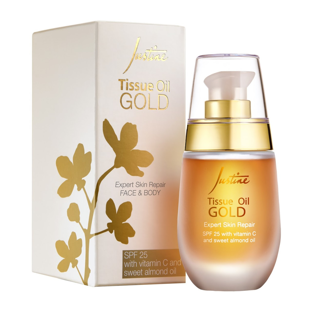 Avon Justine face and body oil