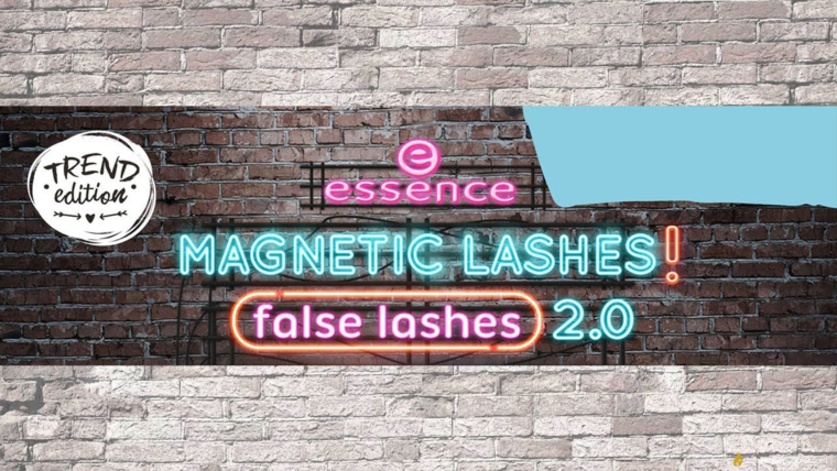 essence magnetic lashes