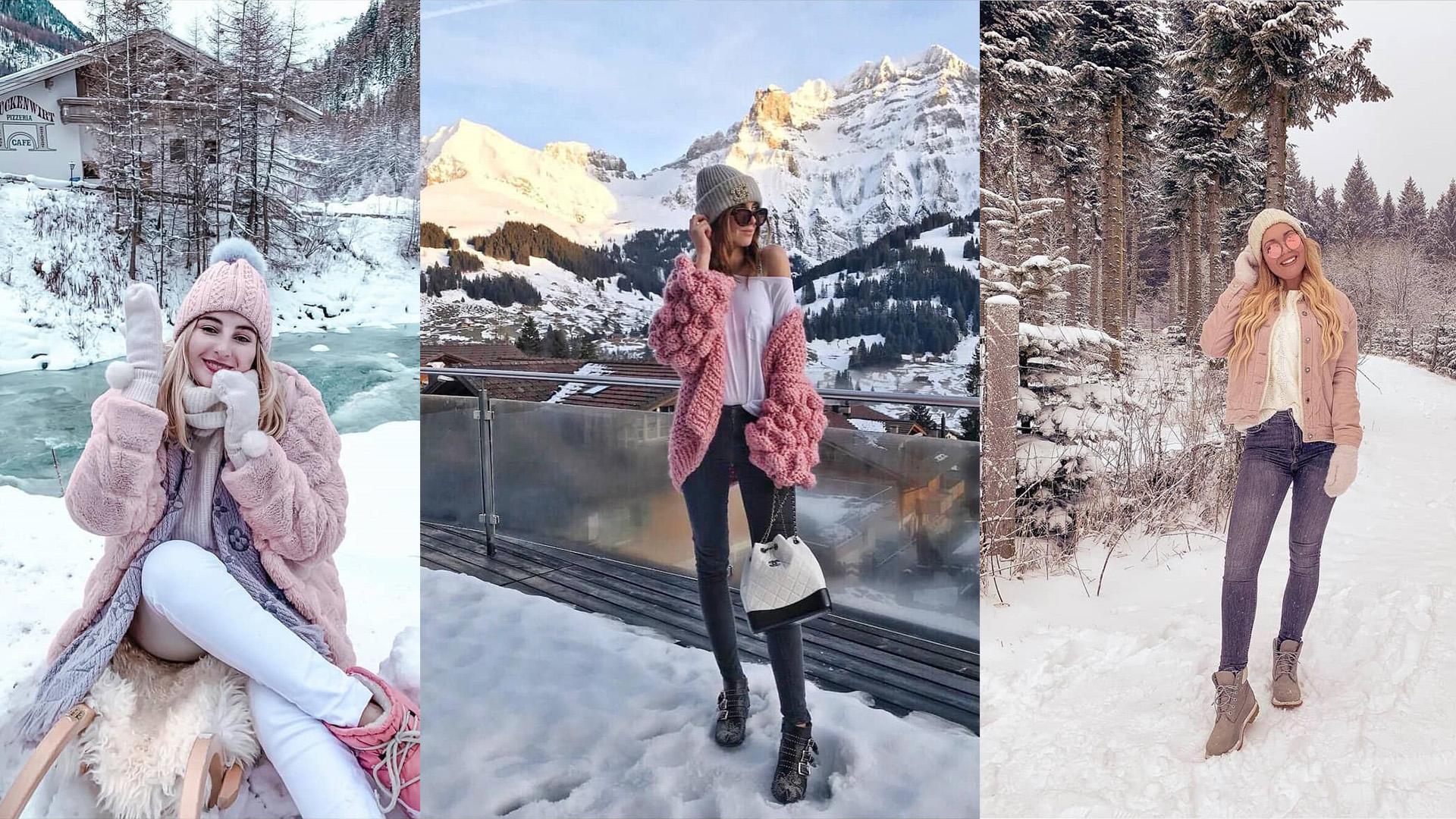 Što instagram cure nose na zimovanju