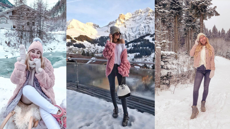 what are instagram influencers wearing during winter
