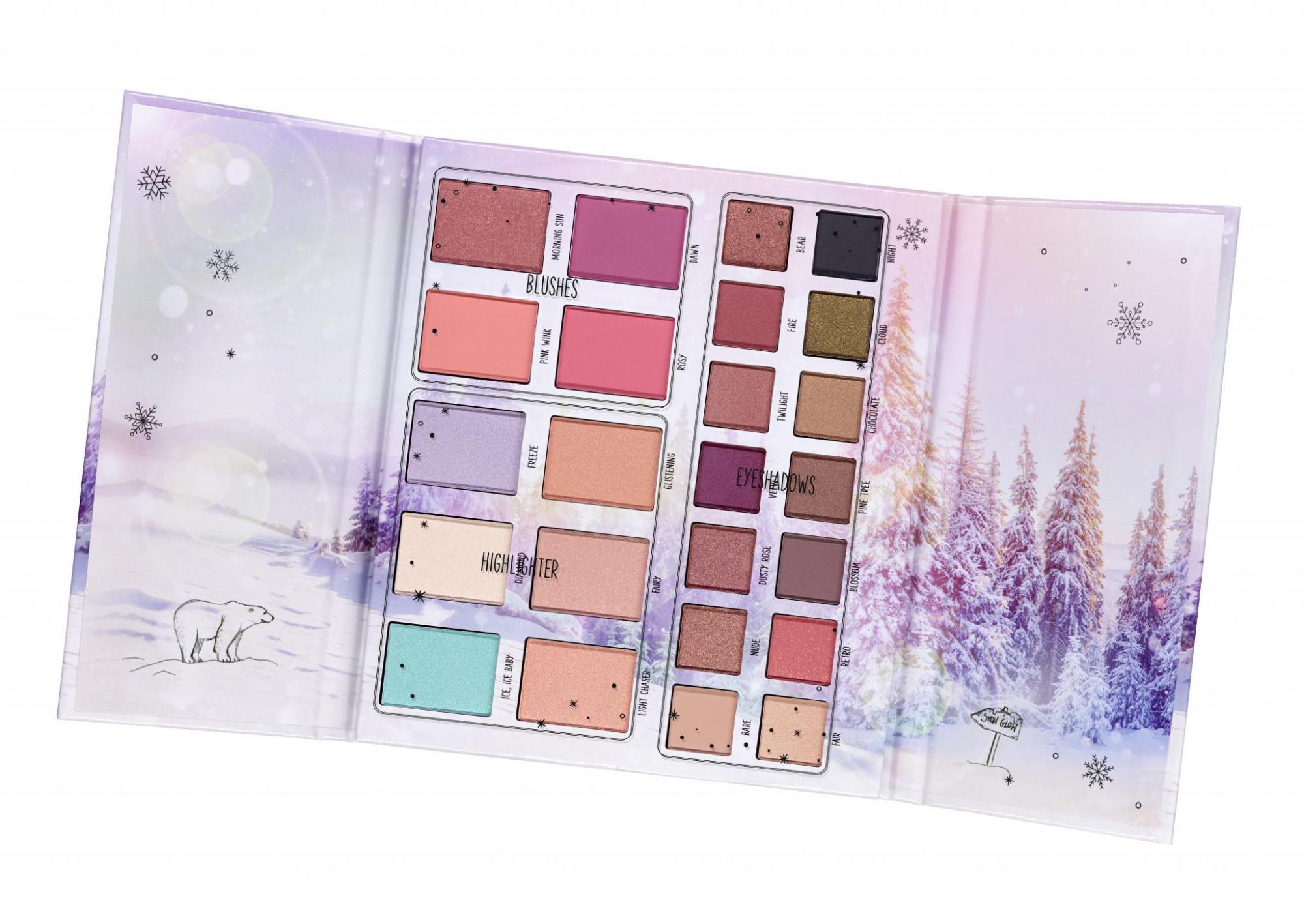 essence snow and glow paleta