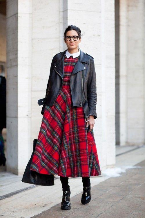 How to wear tartan