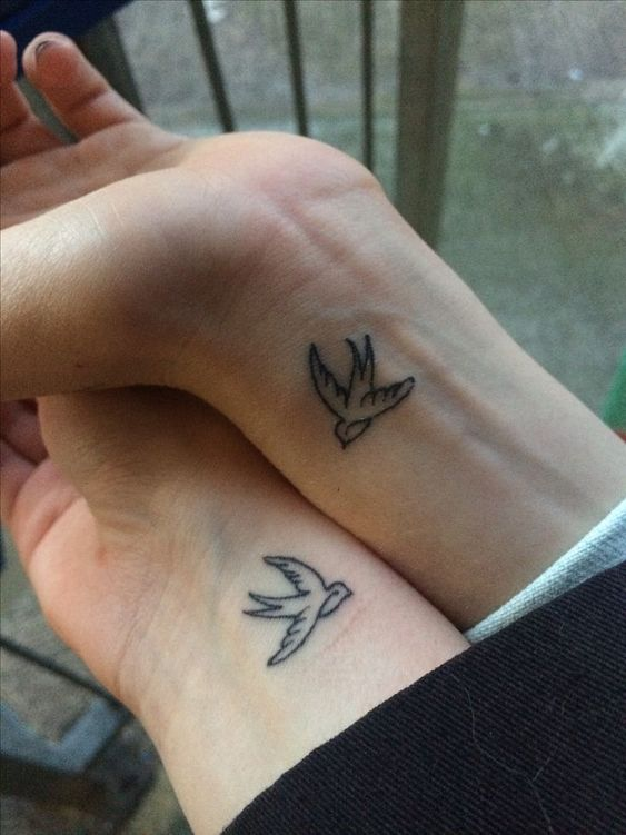 Best matching tattoos for friends