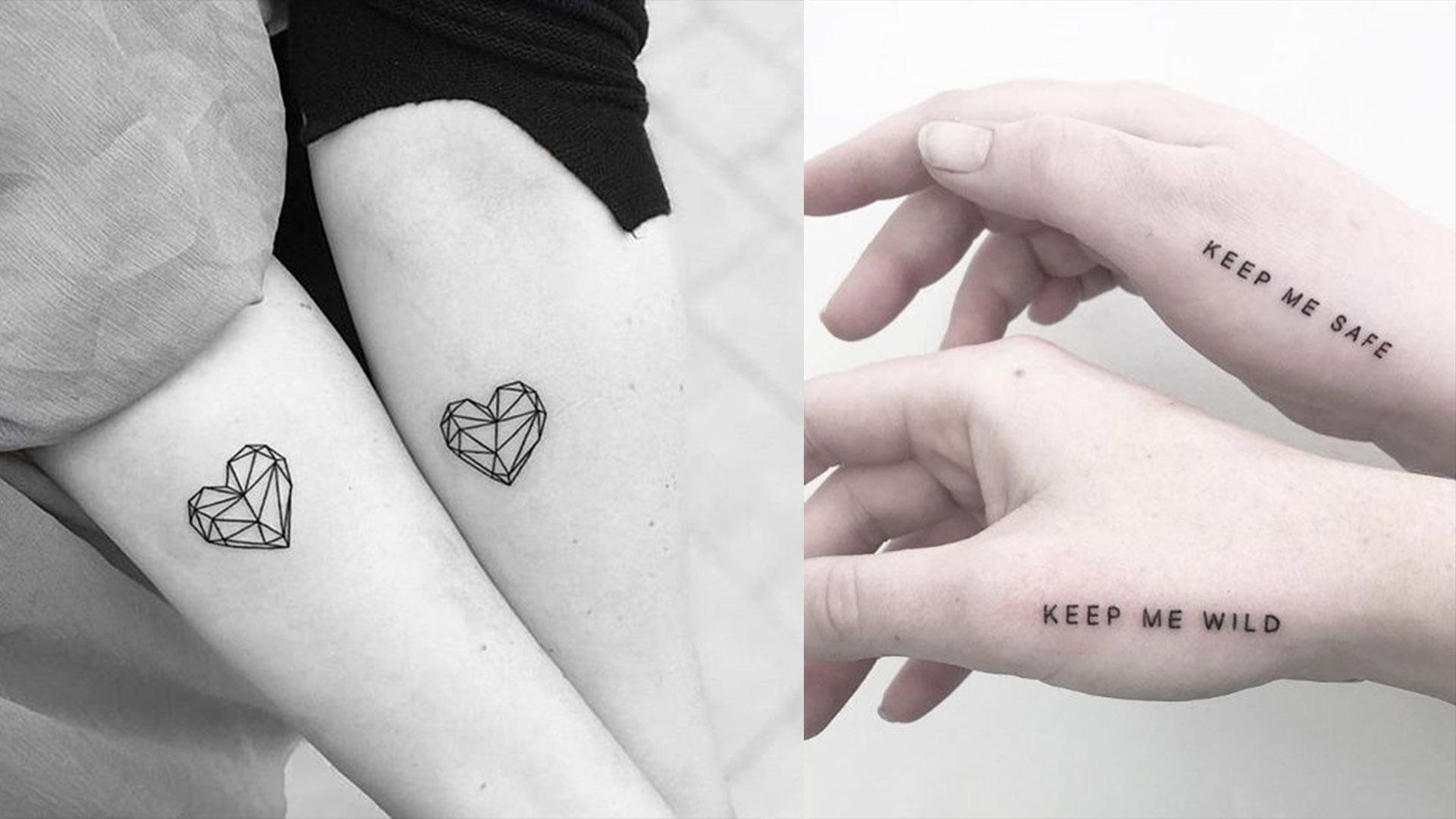 best matching tattoos