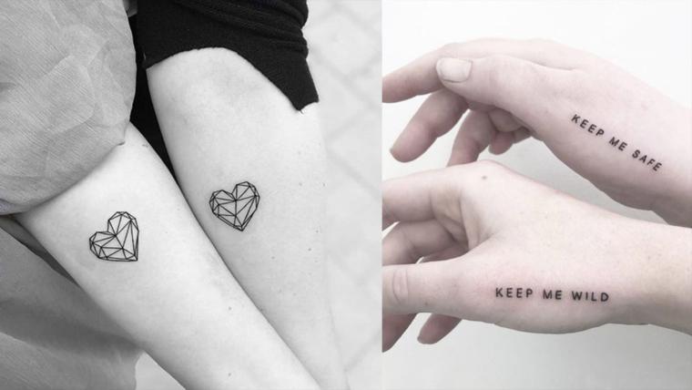 bff matching tetovaže