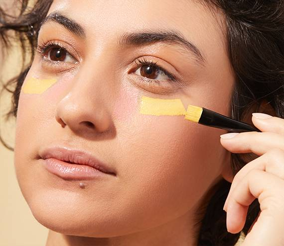 How to use color correcting concealers