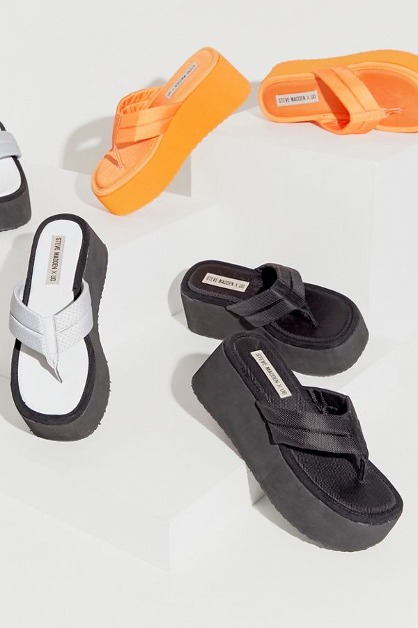 Steve Madden re-released his iconic platform sandals