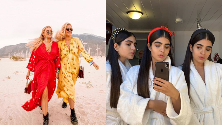 influencer sisters