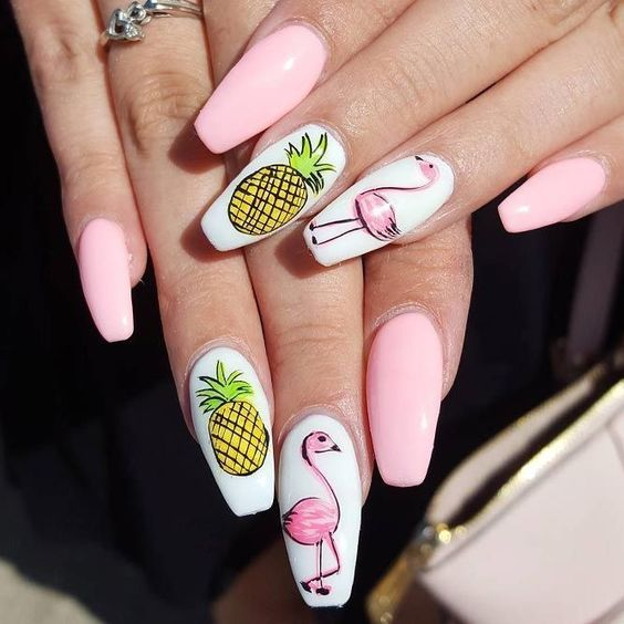 Ideas for summer manicure