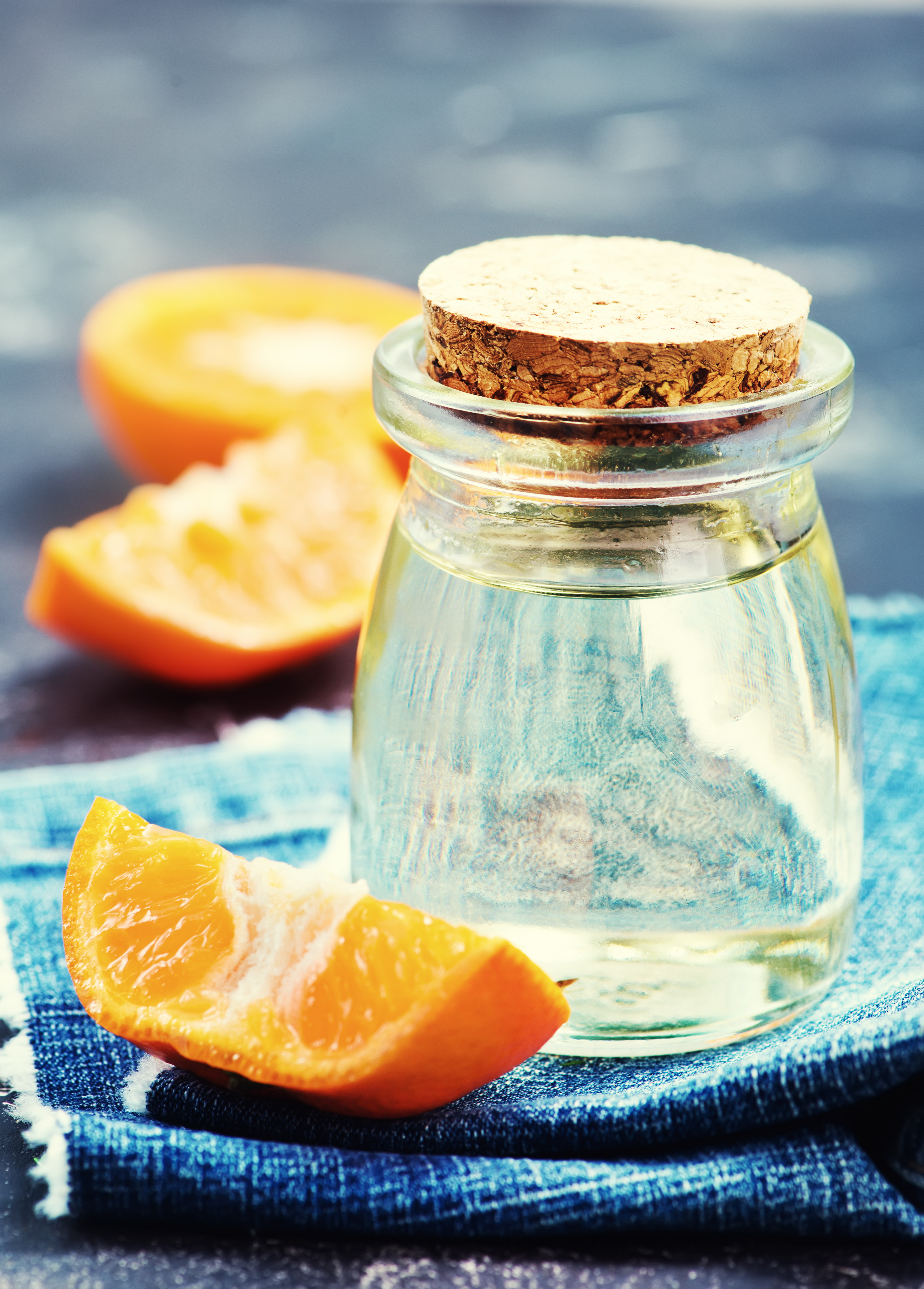 Homemade orange oil for acne